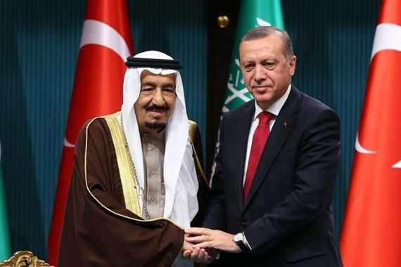 أردوغان والملك سلمان