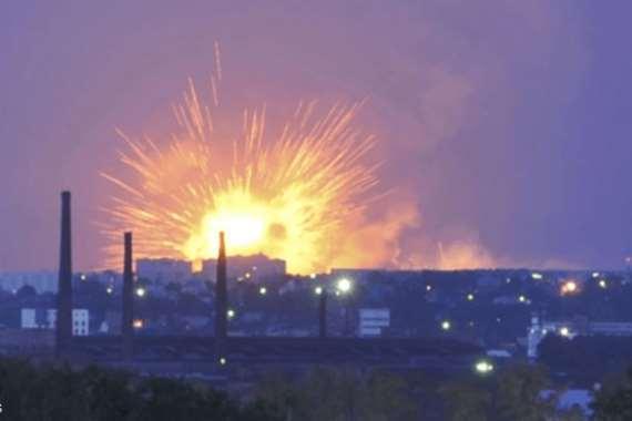 انفجار مصنع عسكري في روسيا
