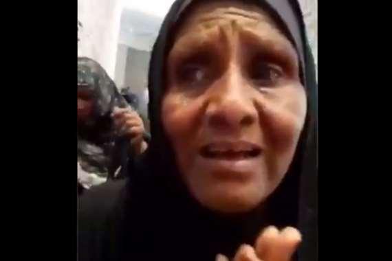 لحظة استعادة حاجه سودانية بصرها في مكة