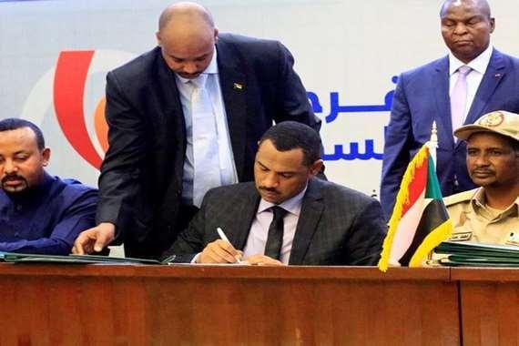 تعيين أعضاء مجلس السيادة الخمسة في السودان