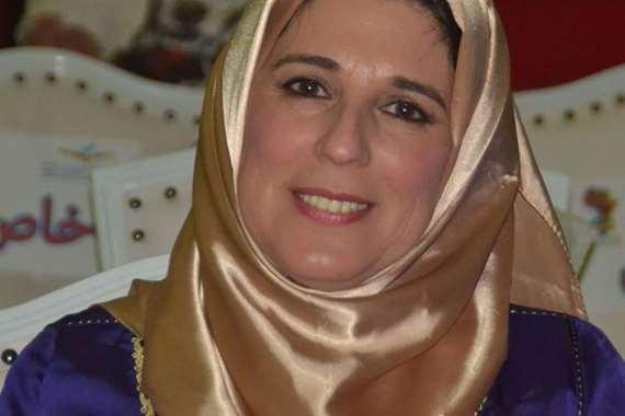 الفنانة المغربية سلوى الشودري