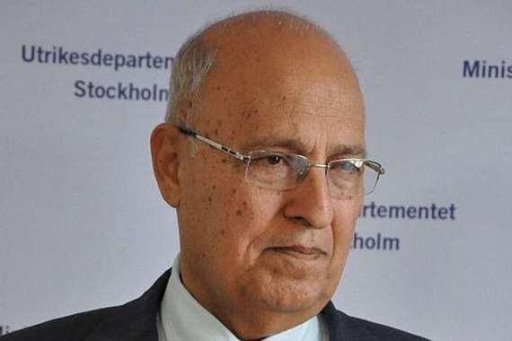 وزير الخارجية الفلسطيني الأسبق، نبيل شعث