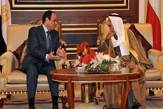 الرئيس السيسي والشيخ صباح الأحمد