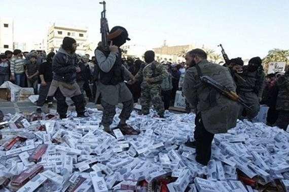 ثروة داعش