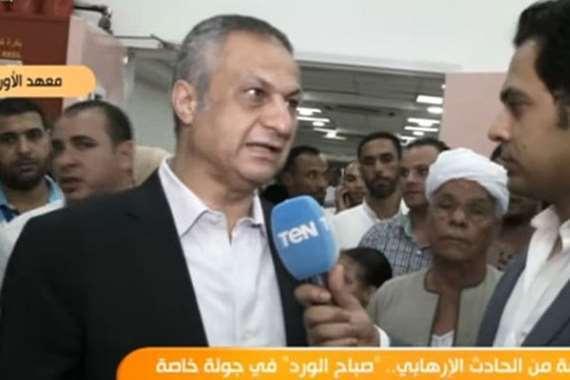 الدكتور حاتم أبو القاسم، عميد المعهد القومي للأورام