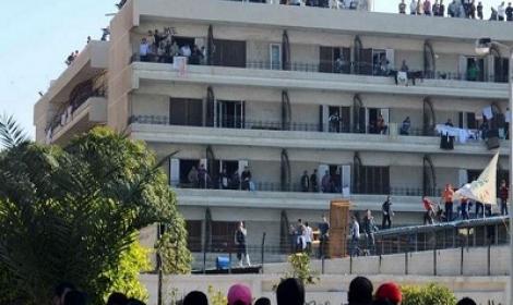إخلاء المدن الجامعية قبيل «ثورة الغلابة»