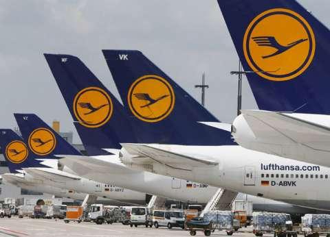 إلغاء رحلات الخطوط الألمانية بمطار القاهرة