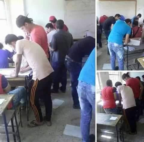 """غش جماعي في لجان """"أبناء الكبار"""""""