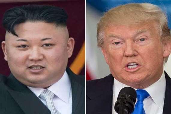 زعيم كوريا الشمالية وترامب