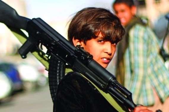 طفل يمني يقتل 5