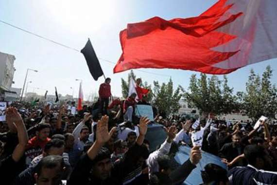 التظاهر فى البحرين