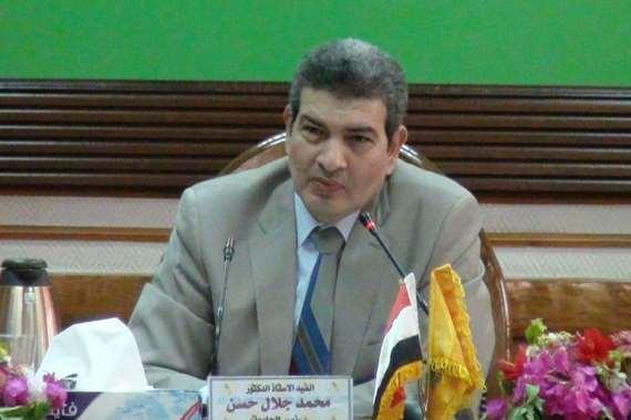 رئيس جامعة لمنيا