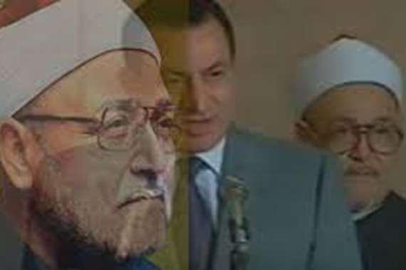 مبارك والغزالي