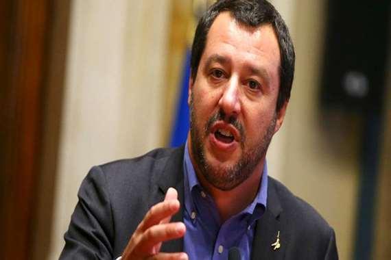 ماتيو سالفيني، نائب رئيس الوزراء ووزير الداخلية الإيطالي
