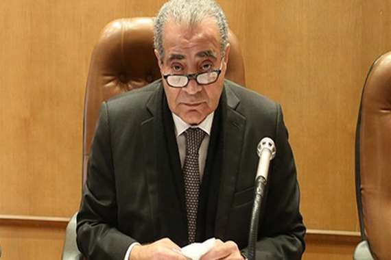 علي مصيلحي وزير التموين