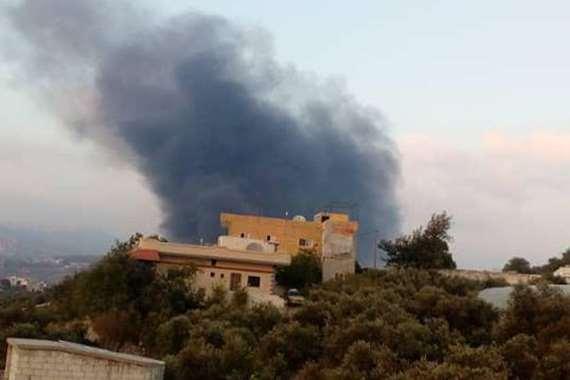 قصف جوي إسرائيلي على سوريا