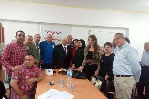اجتماع حزب المصريين الاحرار