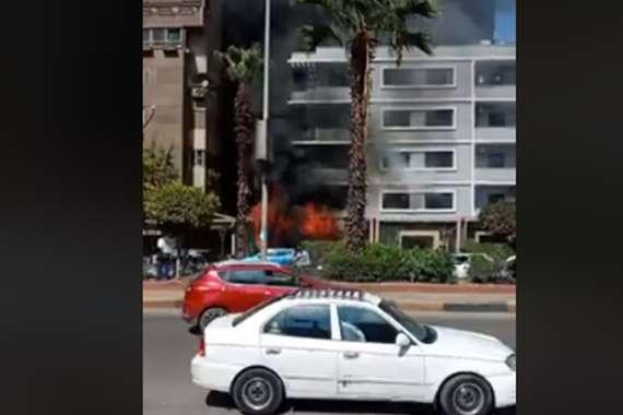 حريق الفندق