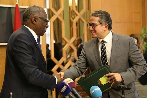 توقيع بروتوكول تعاون بين مصر وغينيا