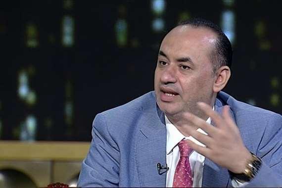 النائب أحمد رفعت، وكيل لجنة الاتصالات بمجلس النواب