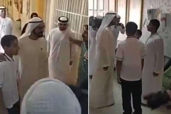 الشيخ محمد بن راشد نائب رئيس الإمارات