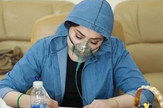 الطالبة العراقية مريم الحساني