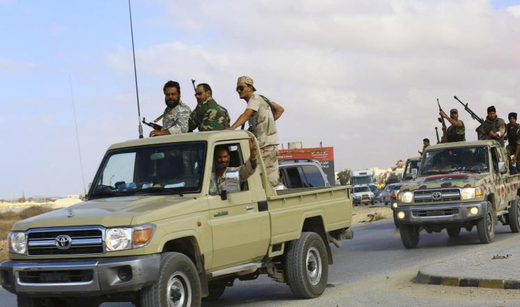 """مقتل 5 من قوات """"حفتر"""" في تفجير ببنغازي"""
