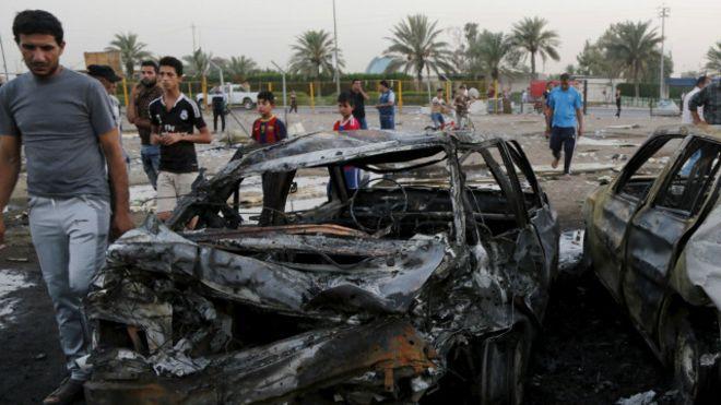 مقتل شرطي في انفجار سيارة مفخخة بالعراق