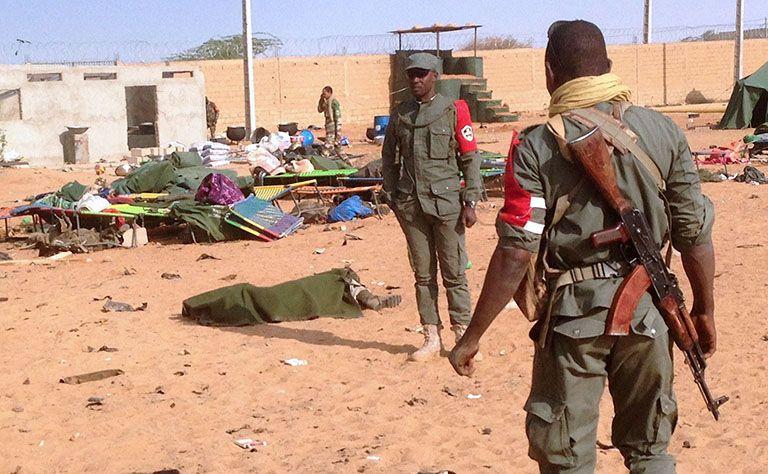 ارتفاع عدد ضحايا هجوم مالي إلى 77 قتيلا
