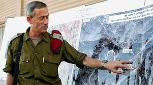 بني غانتس: 41 صاروخا من غزة سقطت على جنوبي إسرائيل