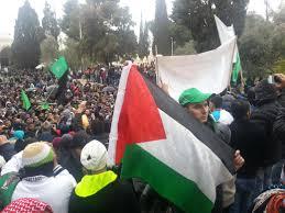 """حزب """"التحرير"""" ينظم مسيرة تنديدا بالرسوم المسيئة للنبي برام الله"""