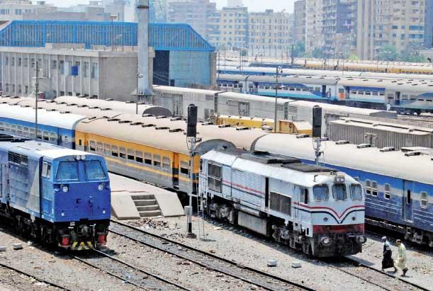السكة الحديد تحتاج 180 مليار جنيه لإعادة تأهيلها
