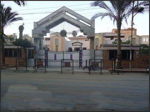 محافظ الغربية وعضو اتحاد كرة القدم يتفقدان نادي بلدية المحلة