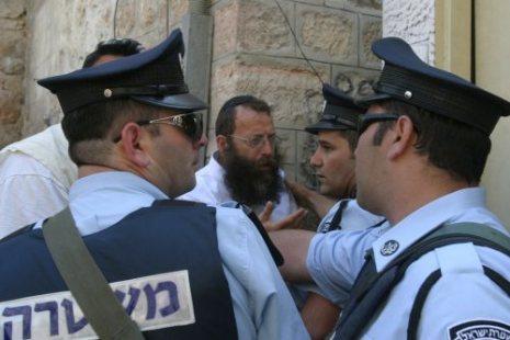 الشرطة الإسرائيلية تعتقل 7فلسطينيين في القدس الشرقية