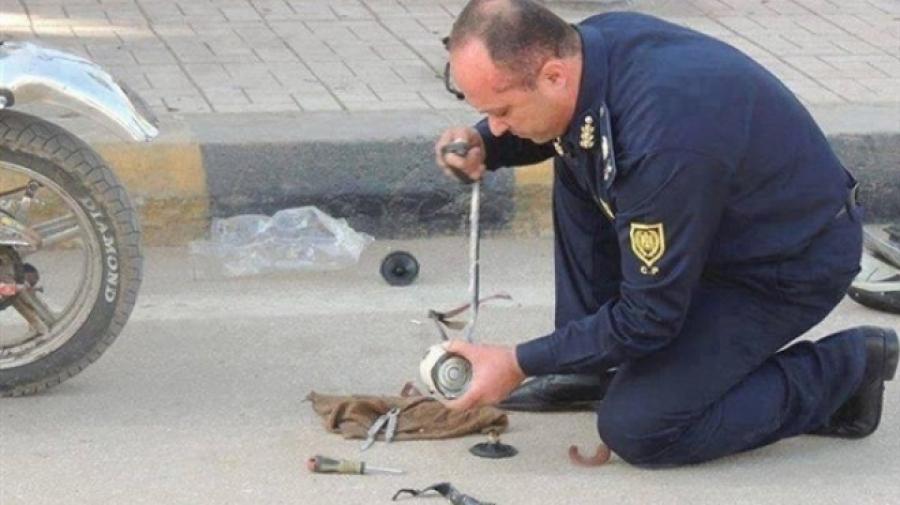 مفرقعات القاهرة: كردون امنى لفحص جسم غريب بنقطة شرطة عسكرية روكسي