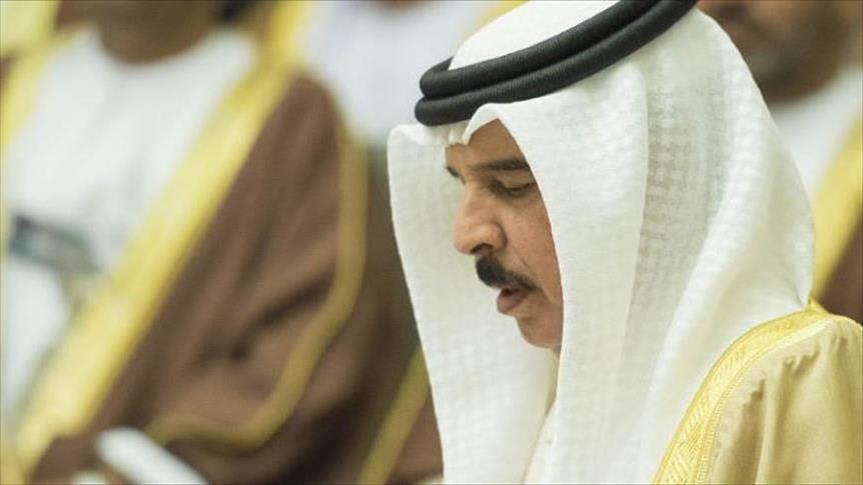 عاهل البحرين يتوقع تعزيز التعاون الخليجي الأمريكي