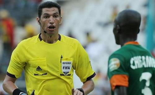 جهاد جريشة يدير مباراة تحديد المركز الثالث بأمم أفريقيا