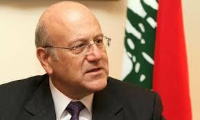 ميقاتي يدين انفجار ضاحية بيروت ويحذر من مؤامره لإغراق لبنان