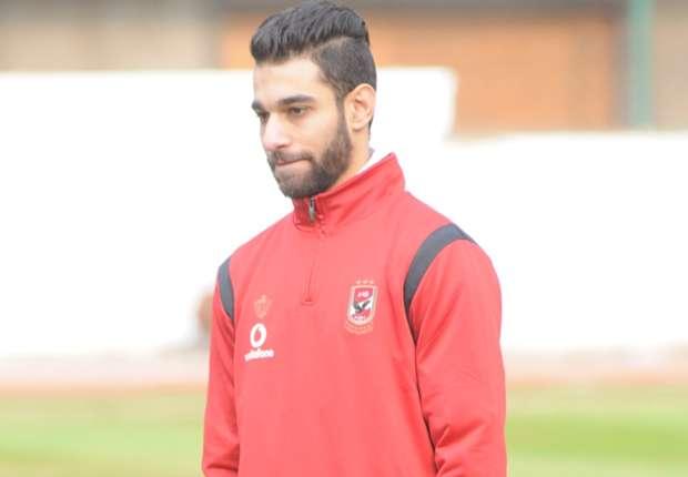 عمرو السولية يشارك في مران الأهلي
