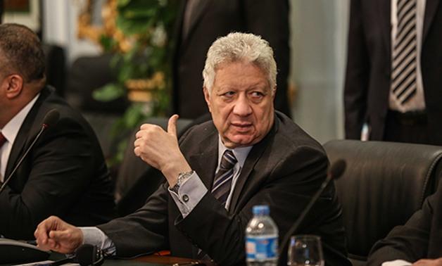"""مرتضى منصور يحذر """"السيسي"""" من هذا الأمر"""