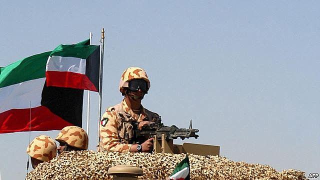 الجيش الكويتي ينفي تحرك قواته البرية لليمن