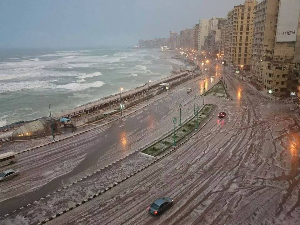 الأرصاد تحذر.. غدًا ذروة عدم استقرار الطقس