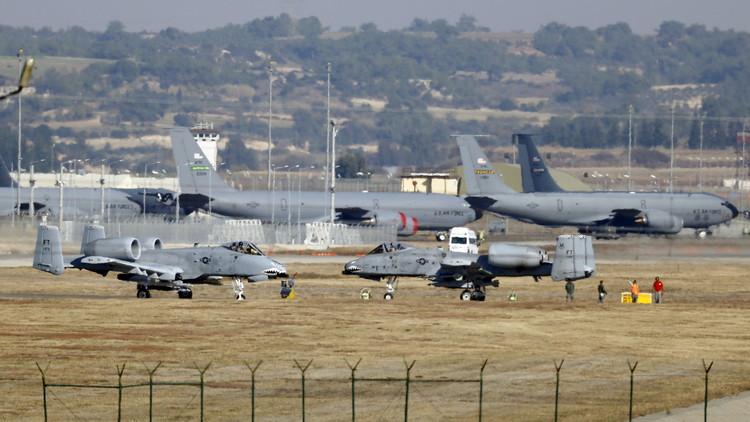 رئيس أركان القوات الجوية الأمريكية يزور قاعدة إنجرليك