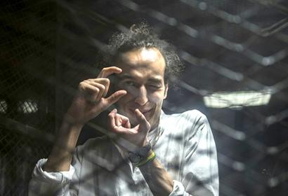 """""""شوكان"""".. محبوس في مصر مُكرم عالميًا"""