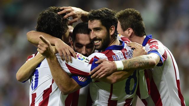 اتلتيكو مدريد يستعيد المركز الثاني في الليجا