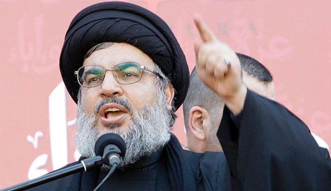 """نصرالله يتهم أميركا باستغلال """"داعش"""" لتقسيم المنطقة"""