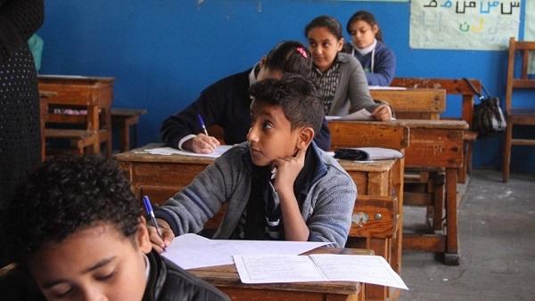 75 ألفًا و487تلميذًا يؤدون امتحان الابتدائية بالمنوفية