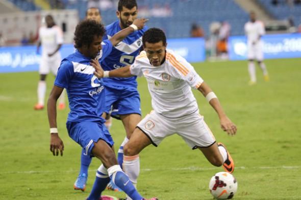 الهلال يتعادل مع الشباب في الدوري السعودي