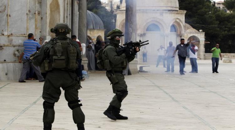 الاحتلال الاسرائيلى يجدد اقتحامه للمسجد الاقصى