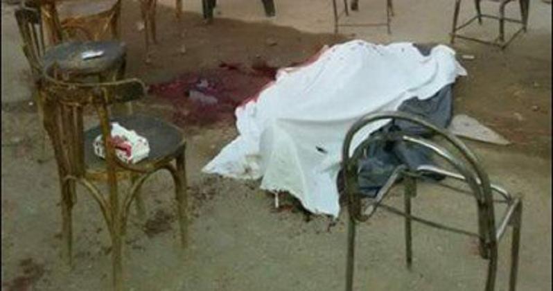 شاب يذبح والده لامتناعه عن مساعدته في الزواج